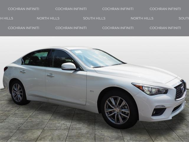 New 2018 INFINITI Q50 2.0t PURE AWD